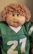 Vintage Collectible Cabbage Patch Kid Doll Xavier Roberts Signed Coleco 3rd Ed.