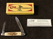 Case Classic Winchester 62091 Stag Whittler Knife Rare Prototype 1 Of 4 0000