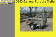 Bateson 0642 General Purpose Trailer To Include Ramp Tailboard - Order Now