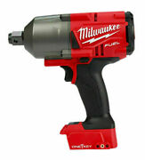Milwaukee 2864-20 M18 Fuelandtrade W/ One-keyandtrade Impact Wrench 3/4 Friction Ring