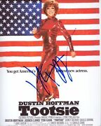 Dustin Hoffman Signed Autographed Tootsie Michael Dorsey Dorothy Michaels Photo