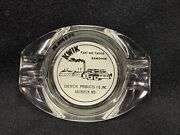 Vintage Kwik Paint Varnish Advertising Chemical Products Co Aberdeen Md Ashtray