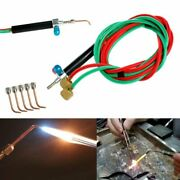 Torch Jewelers Soldering Welding With 5 Tips Hoses Mini Gas Little Torch Welding