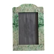 Yamanaka Jadeite Silver Mounted Picture Frame C1930