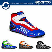 001271 Sparco K-run Kart Boots Karting Go-kart Adult And Childrens Sizes Eu 26-48