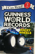 I Can Read Level 2 Guinness World Records Wacky Wheels By Cari Meister 2016,