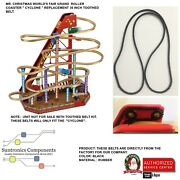 Mr Christmas World's Fair Grand Roller Coaster -36 Inch Toothed Beltnot Unit