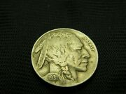1931 S Full Horn Buffalo Nickel Pre Wwii Us Coin Scarce Date