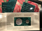 1997 P U.s. Botanic Garden Coinage And Currency Set Choice Uncirculated