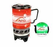 Outdoor Portable Cooking System Stove Heat Exchanger Pot Propane Gas Burners New