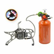 Outdoor Oil Gas Stove Split Burners Camping Equipment Multi Fuel Survival Stoves