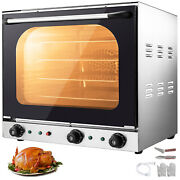 Commercial Convection Oven 60l/2.12 Cu.ft 2600w Toaster Oven Multifunction Oven