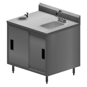 36x30 Stainless Steel Ice Cream Work Table