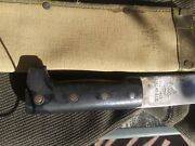 Collins And Co. Machete Ww Ll Foreign Issue With Scabber