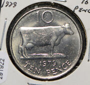 Guernsey 1979 10 Pence Cow Animal 291922 Combine Shipping