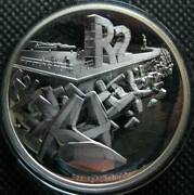 South Africa R2 2016 Silver Proof Coin Inventions Series The Dolos