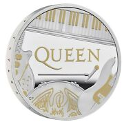 2020 Great Britain Music Legends Queen Andpound2 Silver Proof 1oz Coin Box Low Coa