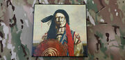 Rare Jd Challenger Signed Native American Indian Art Canvas Genuine 1
