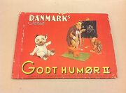 Vintage Trading Cards Danish Complete Album +150 Cards 1950s Funny Animals