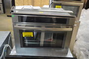 Jenn-air Jbs7524bs 24 Stainless Steam Convection Wall Oven Nob 13702 Mad