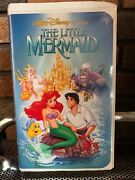 The Little Mermaid Vhs 1990 Banned/discontinued Cover Black Diamond Edition