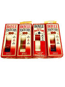 Hoyle Lot Of 385 Official Poker Chips-3 Full 100ct Boxes And 1 85ct Box