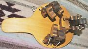 Vintage Wood Paddle Drumming Dancicng Bears Toy Free Shipping