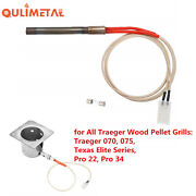 Bbq Grill Parts Replacement Hot Rod Igniter Kit For Traeger Wood Pellet Grills