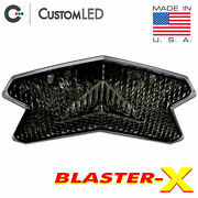 Zx-6r 636 Blaster-x Integrated Tail Light Programmable Ultra-bright Zx6 Smoked