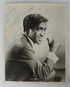 Sammy Davis Jr. Autograph, Signed And Inscribed Promotional Photograph