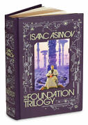 The Foundation Trilogy By Isaac Asimov New Sealed Leather Bound Gift Book