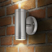 Outdoor Wall Light Stainless Steel Led Up/down Wall Mount Cylinder Waterproof