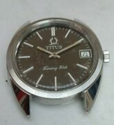 Vintage Solvil And Titus Geneve 9307 Watch For Parts