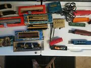 Lionel Ahm Athearn Tyco Trains Track Cars And Power Packs Bundle