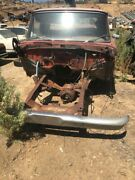 1965 Ford F250 Cab Body, Chassis, Transfer Case, Hood, Donor Truck Short Bed