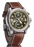Victorinox Swiss Army Infantry Vintage Automatic Chronograph 241448 Unique New