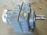 Varvel Gearbox Reducer Planetary 1961, Never Used, 56c Input Flange, 3 Stage