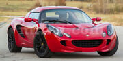 Lotus Elise Red Indoor Fabric Car Cover 1995-20 New