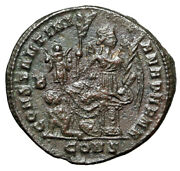 Constantine I The Great Constantiana Dafne Constantinople Ric 35 Nice Vf