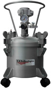 2.5 Gallon Pressure Tank Single Regulated And Air Agitated C.a. Technologies