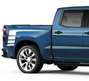 Decal Graphic Side Door Stripe Kit For Chevrolet Silverado Bed Offroad 2010 2020