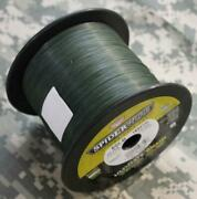 Spiderwire Ultracast Ultimate Braid Fish Line 50 Test 1500 Yds Lowvis Green New