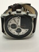 Sample Diesel Watch And Band No Movement Doesn't Work Use For Parts Ms235