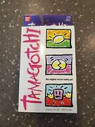 Very Rare Tamagotchi Original 1996-1997 White With Blue Buttons 1800 New In Box