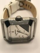 Sample Diesel Watch And Band No Movement Doesn't Work Use For Parts Ms276