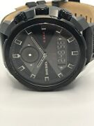 Sample Diesel Watch And Band No Movement Doesn't Work Use For Parts Ms297