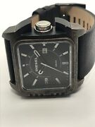 Sample Diesel Watch And Band No Movement Doesn't Work Use For Parts Ms306