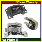 Engine Motor And Trans Mount For Ford Escape Transit Connect 13-19 1.5l 1.6l 3pcs