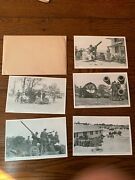 Lot Of 5 Mint Clean Unused Ww2 Wwii Postcards Fort Eustis Virginia Us Army