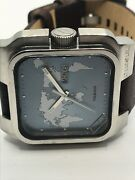 Sample Diesel Watch And Band No Movement Doesn't Work Use For Parts Ms330